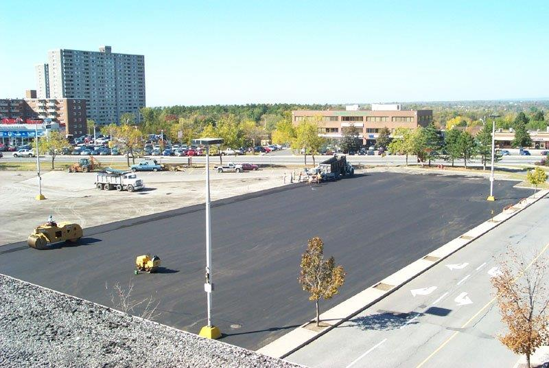 Parking Lot Paving in Ottawa by Brenning Paving and Construction