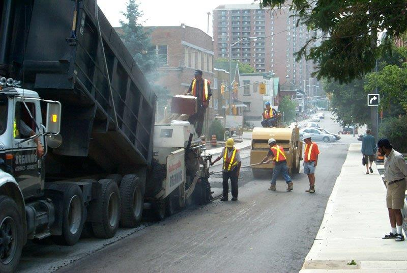 Road Construction In Ottawa by Brenning Paving and Construction